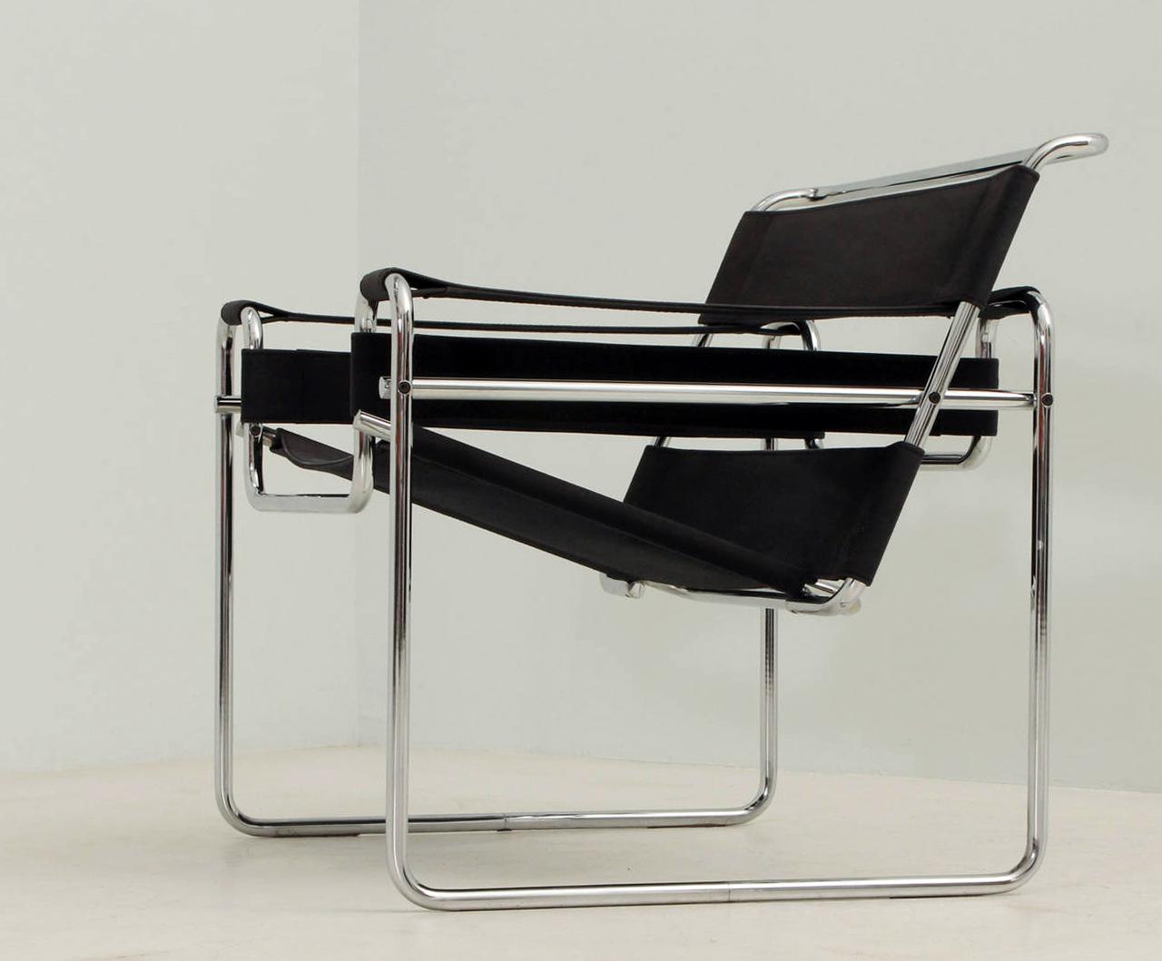Silla B3 Wassily Chair, Marcel Breuer (1925)